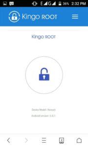 One Click Root par click kare