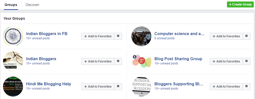 group in fb
