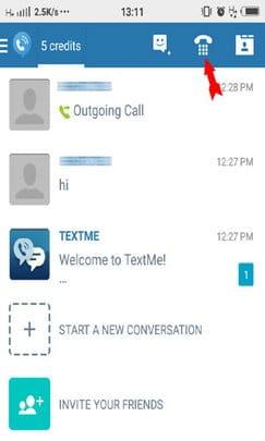 textme calling hindi