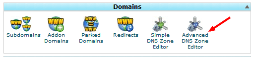 DNS records in cPanel hindi