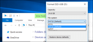 FAT32,NTFS और exFAT File system क्या है ? इनमे क्या अंतर है ? पूरी जानकारी