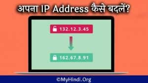 How to Change Your IP Address In Hindi