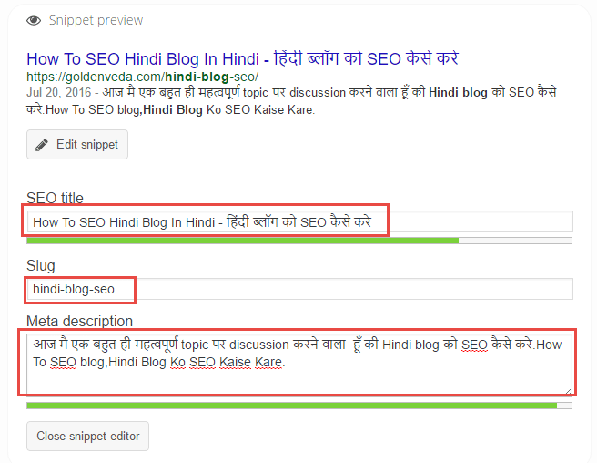 meta tags hindi blog seo